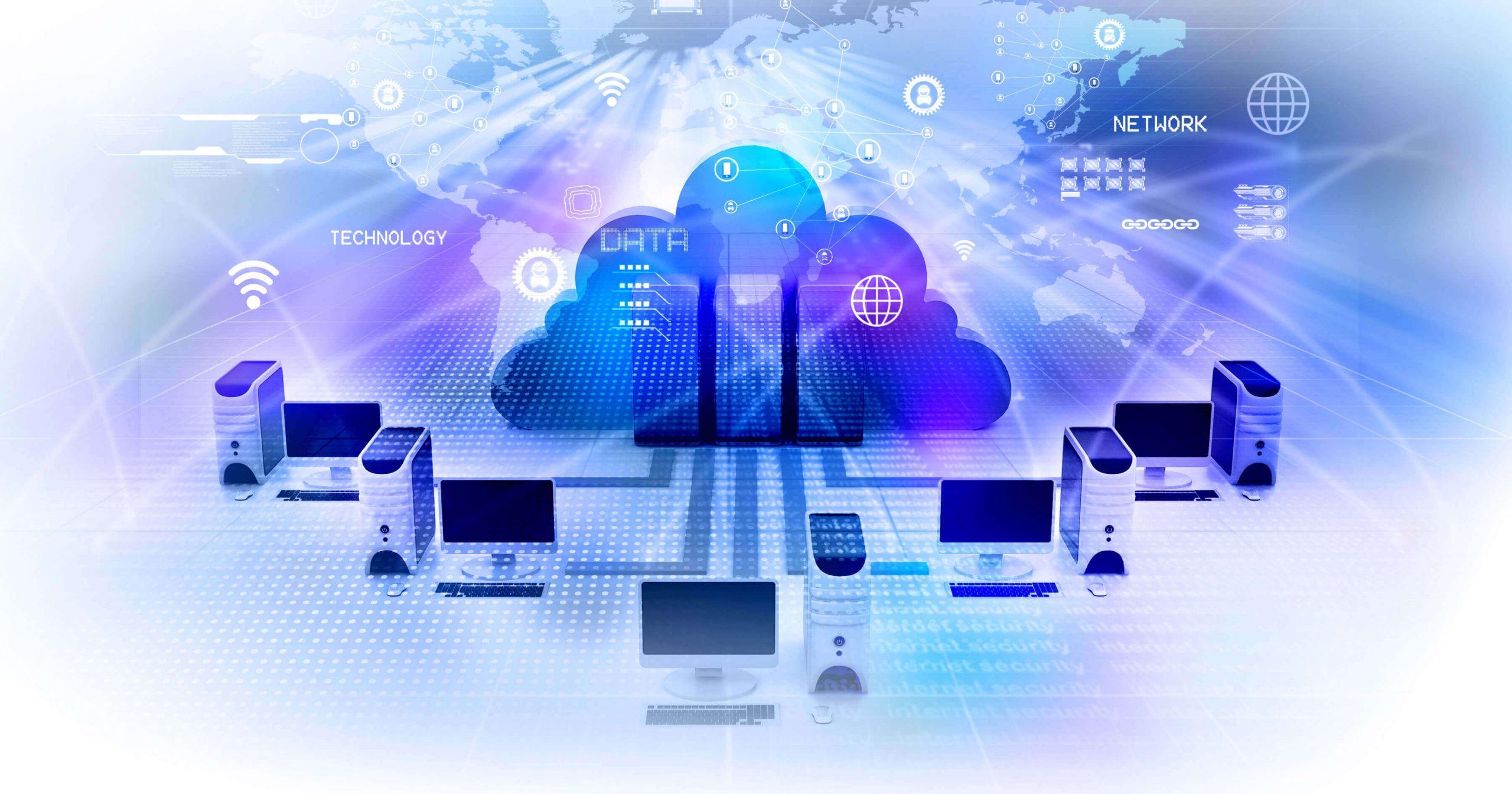 Hébergement externalisé / Cloud Entreprise / Espace de travail virtuel
